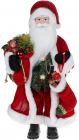 Фігура «Санта з носком» 46см (м'яка іграшка), червоний