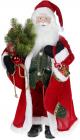 Фігура «Санта з носком» 60см (м'яка іграшка), червоний
