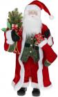 Фигура «Санта с носком» 90см (мягкая игрушка), красный