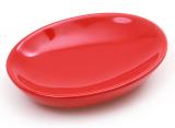 Мыльница Bright Bathroom 12х9х3см, красная