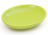 Мыльница Bright Bathroom 12х9х3см, зеленая