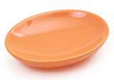 Мыльница Bright Bathroom 12х9х3см, оранжевая