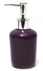 Дозатор (диспенсер) Bright Bathroom Ø7х15.3см для жидкого мыла, баклажан
