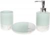 Набор аксессуаров Bright Мята для ванной комнаты 3 предмета