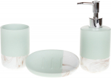 Набір аксесуарів Bright М'ята для ванної кімнати 3 предмети