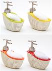 Дозатор Bona-101 для жидкого мыла с кухонной губкой