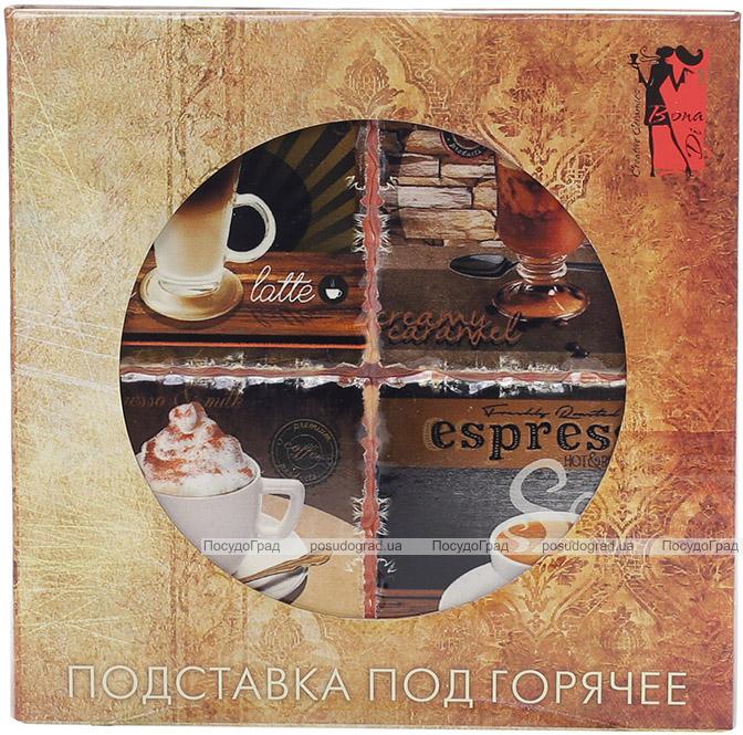 """Підставка під гарячий посуд """"Espresso"""" керамічна 16х16см"""