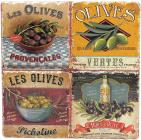 """Підставка під гарячий посуд """"Olives"""" керамічна 16х16см"""