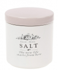 Банка керамічна Sweet Home SALT 450мл для зберігання солі, рожева кришка