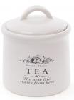 Банка керамическая Sweet Home TEA 600мл для хранения чая
