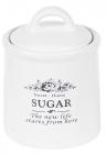Банка керамическая Sweet Home SUGAR 600мл для хранения сахара