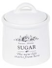 Банка керамическая Sweet Home SUGAR 800мл для хранения сахара