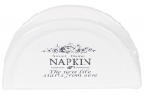Подставка для салфеток Sweet Home NAPKIN 12.5х4.5х7см (салфетница)