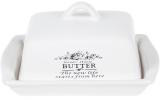 Масленка керамическая Sweet Home BUTTER 18.5х14.5х11см