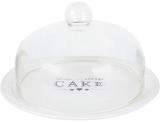 Блюдо-тортовница Sweet Home CAKE Ø28см со стеклянной крышкой- колпаком