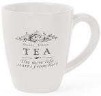 """Кружка керамическая """"Sweet Home TEA"""" 300мл (большая чайная чашка)"""