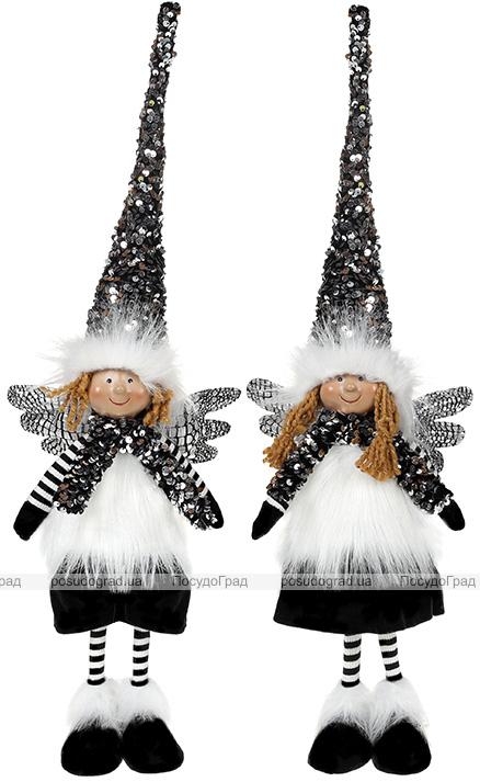 Мягкая игрушка «Ангел Black&White» 16х9х60см