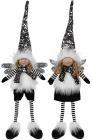 Мягкая игрушка «Ангел Black&White» 16х10х65см, сидячий