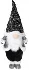 Мягкая игрушка «Гном Black&White» 35х26х97см в пайетках