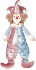 Мягкая игрушка «Клоун Тиффани» 19х13х48см, розовый с голубым