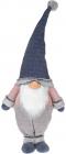 Мягкая игрушка «Гном в синем» 30х19х87см
