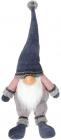 Мягкая игрушка «Гном в синем» 23х17х68см, сидячий