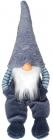 Мягкая игрушка «Полосатый Гномик» 20х18х64см, сидячий