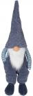 Мягкая игрушка «Полосатый Гномик» 26х22х84см, сидячий