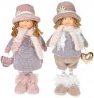 Мягкая игрушка «Кукла Зои, кукла Гарри» Тиффани 16х10х36см