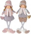 """М""""яка іграшка «Лялька Зої, Лялька Гаррі» Тиффані 20х13х57см, сидяча"""