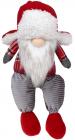 М'яка іграшка «Гномик Red&Grey» 20х13х37см, сидячий