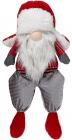 М'яка іграшка «Гномик Red&Grey» 26х18х57см, сидячий