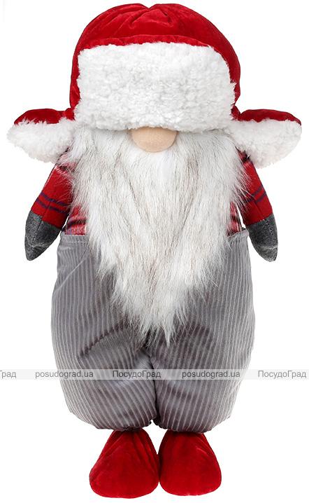 Мягкая игрушка «Гномик Red&Grey» 26х18х47см