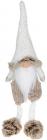 М'яка іграшка «Гномик White&Brown» 17х12х58см, сидячий