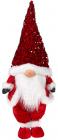 Мягкая игрушка «Гном Red&White» 22х16х55см в пайетках