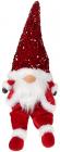 М'яка іграшка «Гном Red&White» 22х16х64см в пайєтках, сидячий