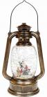 """Новогодний декоративный фонарь """"Санта с оленем"""" 24см с LED подсветкой, подвесной"""