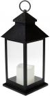 """Декоративний ліхтар """"Нічний вогник"""" з LED підсвічуванням 13.5х13.5х31.5см"""