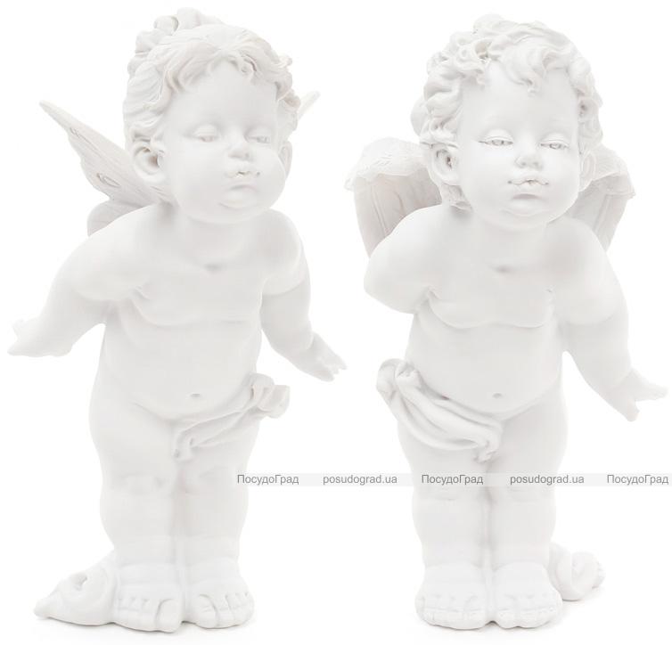 """Набор 2 декоративные статуэтки """"Целующиеся Ангелы"""" 22см"""