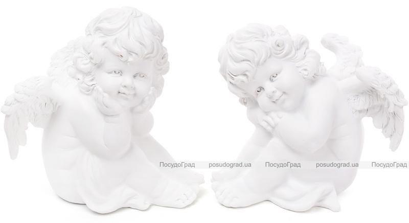 """Статуэтка декоративная """"Мечтающий Ангел"""" 19см"""