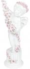 """Статуетка декоративна """"Ангел з розсипом квітів"""" 10.4х7.4х22.7см"""