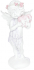 """Статуетка декоративна """"Ангел з сердечками"""" 12.8х10.2х24.8см"""