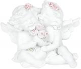 """Статуетка декоративна """"Закохані янголята"""" 10.7х7.2х8.2см"""