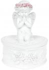 """Шкатулка декоративна """"Молитва Ангела"""" 10х8.9х13.4см"""