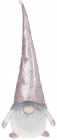 Мягкая игрушка «Гномик» Pink с LED подсветкой 24х20х72см