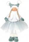 М'яка іграшка «Дівчатко в спідничці» Mint 20х12х38см
