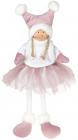 Мягкая игрушка «Девчонка в юбчонке» Pink 20х12х43см, сидячая