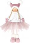 Мягкая игрушка «Девчонка в юбчонке» Pink 20х12х38см