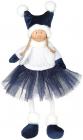 М'яка іграшка «Дівчатко в спідничці» Sapphire 20х12х43см, сидяча