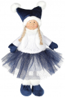 М'яка іграшка «Дівчатко в спідничці» Sapphire 20х12х38см